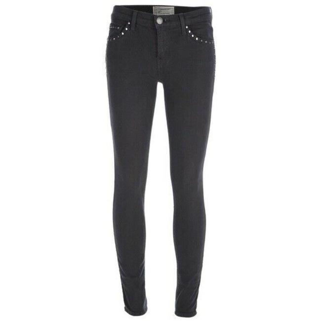 Item - Black Dark Rinse Womens The Ankle Studs Jet Skinny Jeans Size 26 (2, XS)