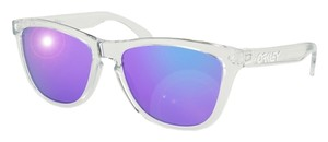 Oakley 24-305 Frogskins Oakley Polished Clear Male Sunglasses