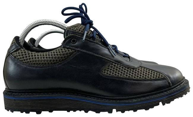 Item - Black Blue Jack Nicklaus By Renegade Signature Golf Lace Up Sneakers Size US 9 Regular (M, B)