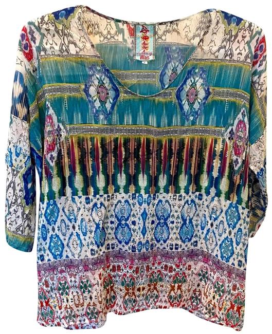 Item - L Rainbow - Tunic Size 14 (L)