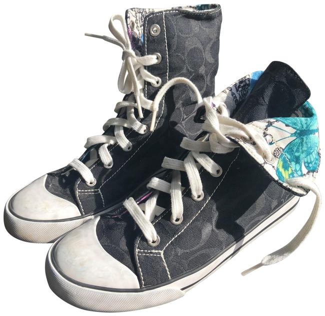 Item - Black Bonney Fold Over Butterfly 7b Sneakers Size US 7 Regular (M, B)