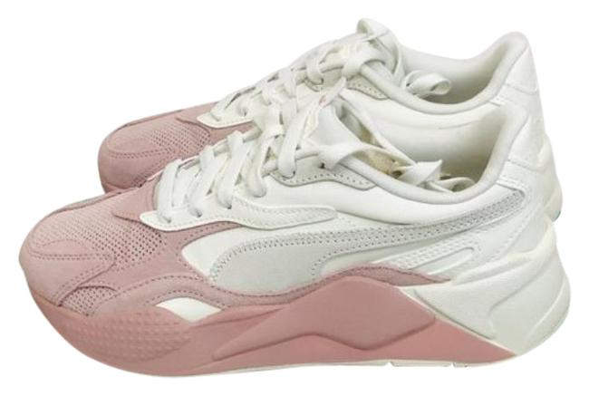 Item - White Pink Womens Rs-x3 Colour Block Muave Sneakers Size US 8.5 Regular (M, B)