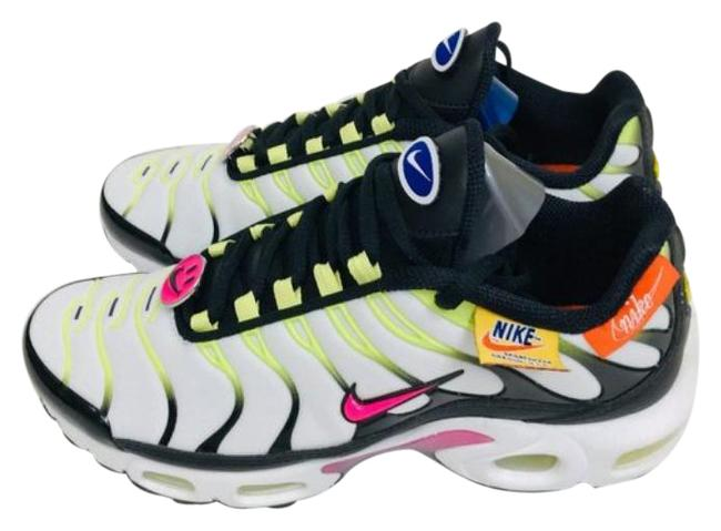 Item - White Green Air Max Plus 'have A Day' Sneakers Size US 7 Regular (M, B)