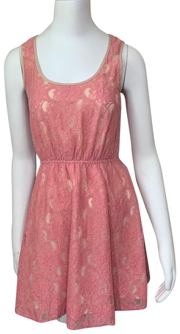 Item - Pink Flying Tomato Short Casual Dress Size 4 (S)
