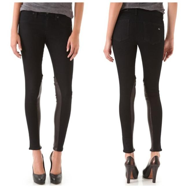 Item - Black Blue Dark Rinse The Jodhpur Legging Skinny Jeans Size 26 (2, XS)