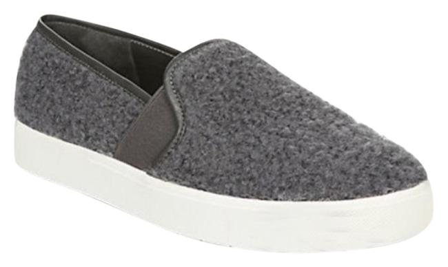 Item - Gray Blair Shearling Slip On Flats Size US 9 Regular (M, B)