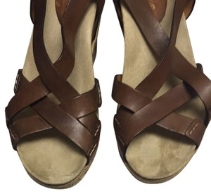 Earthies Brown Wedges