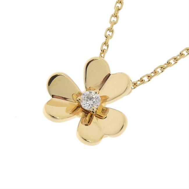 Item - Yellow Gold Frivor K18 Diamond Necklace