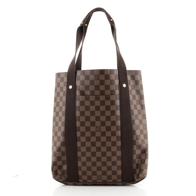 Item - Cabas Beaubourg Monogram Brown Coated Canvas Tote