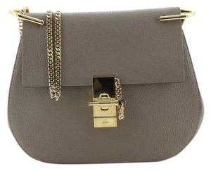 Item - Chloé Drew Small Neutral Leather Cross Body Bag