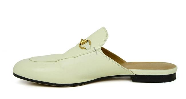 Item - White Princetown Loafer Mules/Slides Size EU 39.5 (Approx. US 9.5) Regular (M, B)