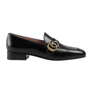 Item - Marmont Black 602496 Gg Leather Loafer Flats