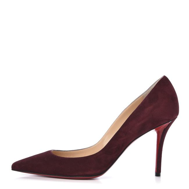 Item - Red Apostrophy Wine Suede Pointed New Pumps Size EU 39 (Approx. US 9) Regular (M, B)
