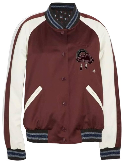 Item - Red 1941 Reversible Cloud Souvenir Jacket Size 6 (S)