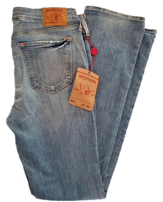Item - Blue Stacey Stretch Straight Leg Jeans Size 32 (8, M)