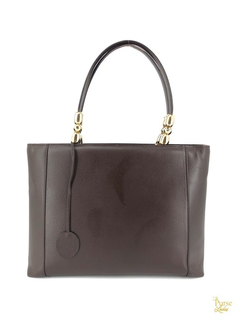 Item - Large Malice #33323 Brown Leather Tote