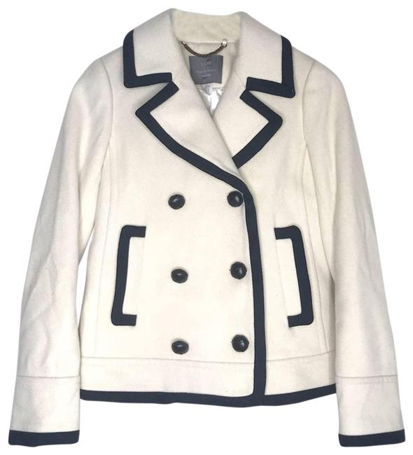 Item - White Tipped Wool By Nello Gori Short Coat Size 0 (XS)