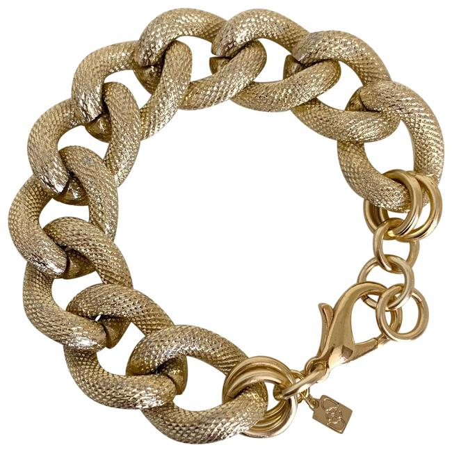 Item - Gold Chunky Chain Bracelet