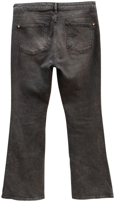 Item - Pilcro and The Letterpress Black Medium Wash Anthropologie High Rise Boot Cut Jeans Size 29 (6, M)