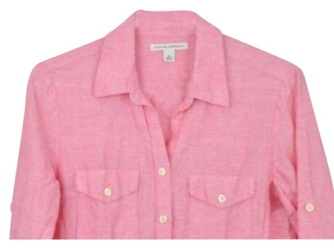 Item - Pink Button-down Top Size 4 (S)