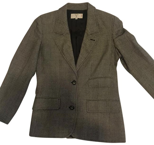 Item - Gray Lined Wool In Blazer Size 6 (S)