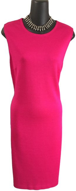 Item - Pink Collection Knit Mid-length Work/Office Dress Size 10 (M)