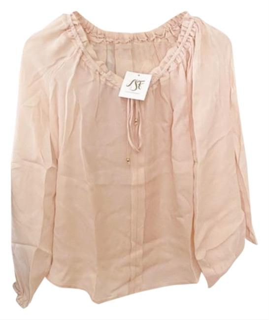 Item - Pink Cream Michelle S Blouse Size 4 (S)