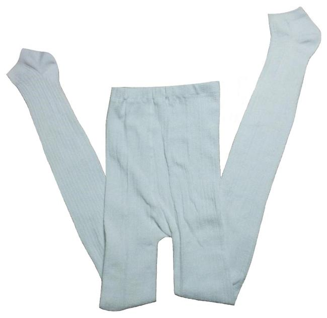 Item - White Fashion Knitted Slim Super Stretchy Leggings Size OS (one size)