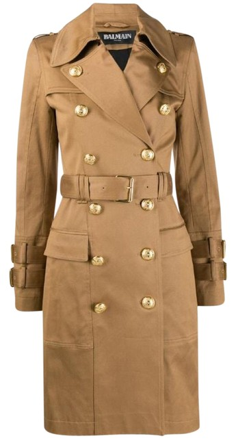 Item - Beige Tan Camel Fall Winter 2021 Limited Edition Classic Coat Size 6 (S)
