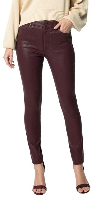 Item - Red Coated The Charlie Skinny Jeans Size 26 (2, XS)