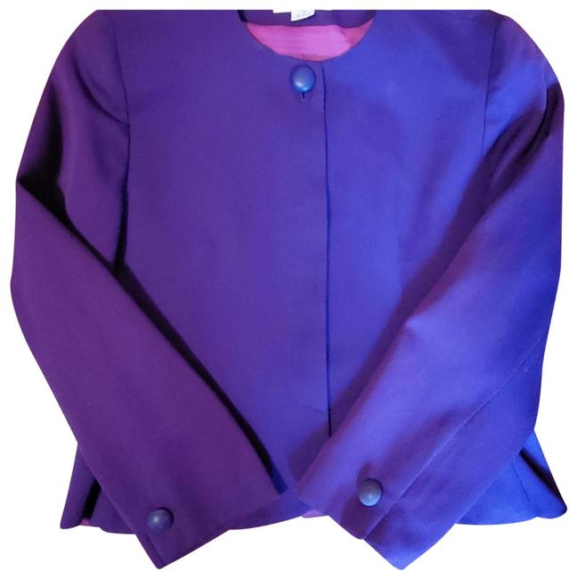 Item - Purple Peplum Suit Jacket Blazer Size 10 (M)