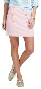Vineyard Vines Mini Mini Skirt Pink White