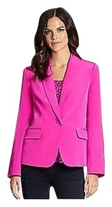 Lilly Pulitzer Campbell Silk Blazer Motorcycle Motorcycle Jacket