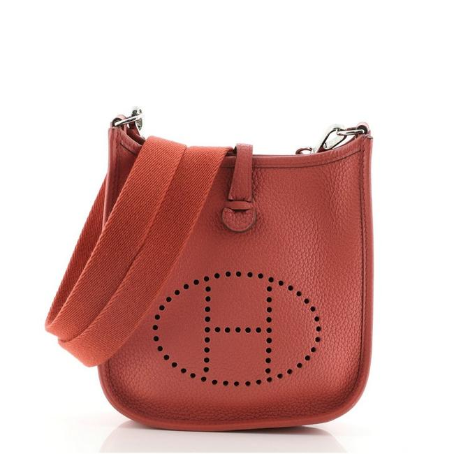 Item - Evelyne Gen Iii Clemence Tpm Red Leather Cross Body Bag