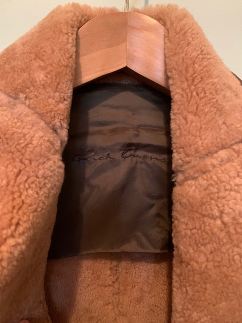 Rick Owens Brown Distressed Leather Jacket Size 0 (XS) Rick Owens Brown Distressed Leather Jacket Size 0 (XS) Image 8