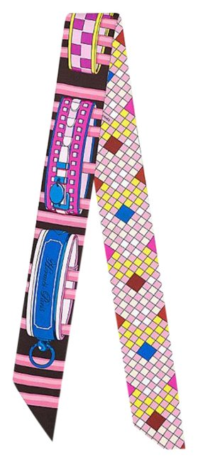 Item - Multicolor Colliers De Chimes Remix Twilly Scarf/Wrap