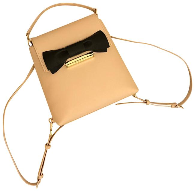 Item - Make It Mine Small Maddie Tan Leather Backpack