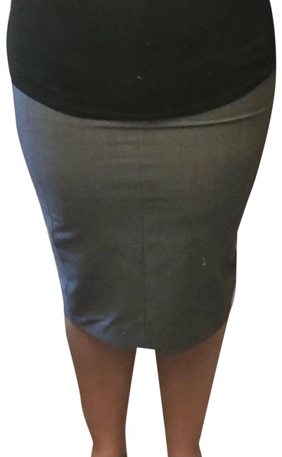 Item - Gray Hook Eye Skirt Size 8 (M, 29, 30)