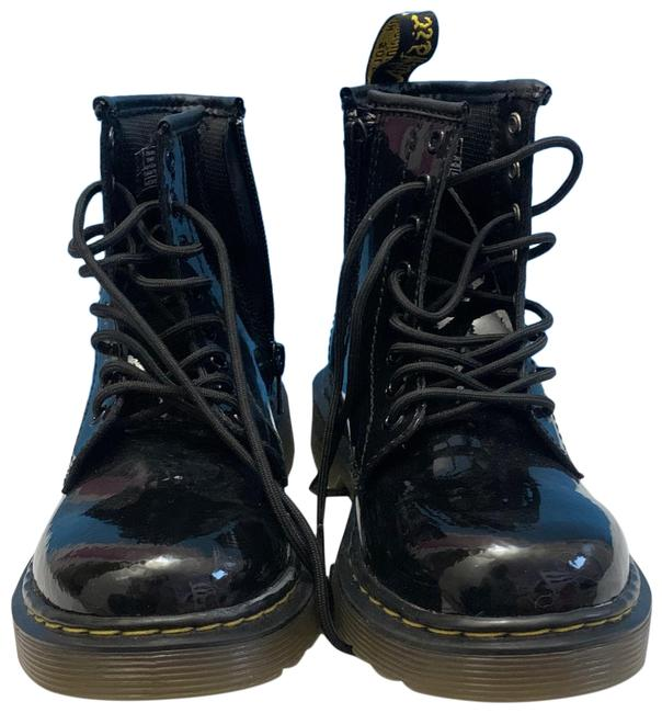Dr. Martens Girls Patent Leather Boots/Booties Size US 13 Regular (M, B) Dr. Martens Girls Patent Leather Boots/Booties Size US 13 Regular (M, B) Image 1