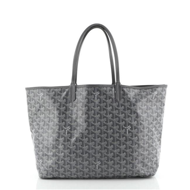 Item - Saint Louis Pm Gray Coated Canvas Tote