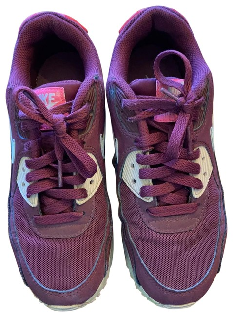 Item - Dark Red Air Sneakers Size US 6.5 Regular (M, B)