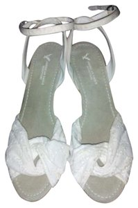 American Eagle Outfitters Wedge Sandal White Wedges