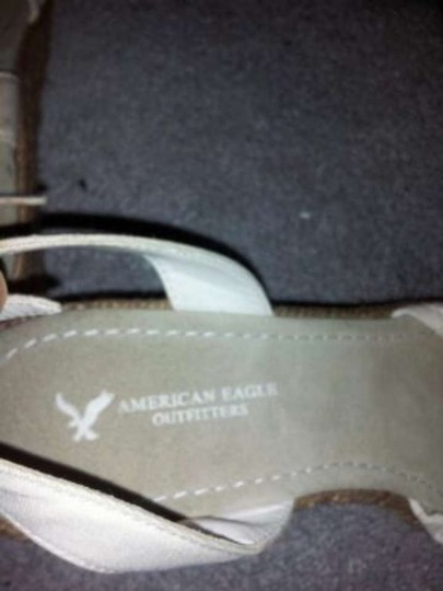 American Eagle Outfitters Sandal White Wedges