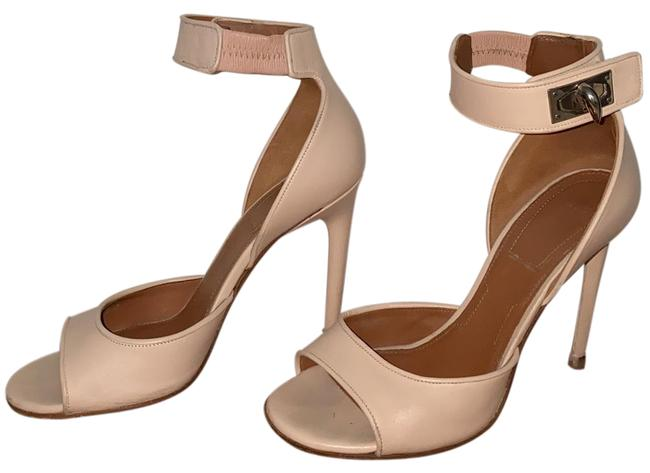 Item - Pale Pink/Nude Shark Lock Sandals Size US 6.5 Regular (M, B)