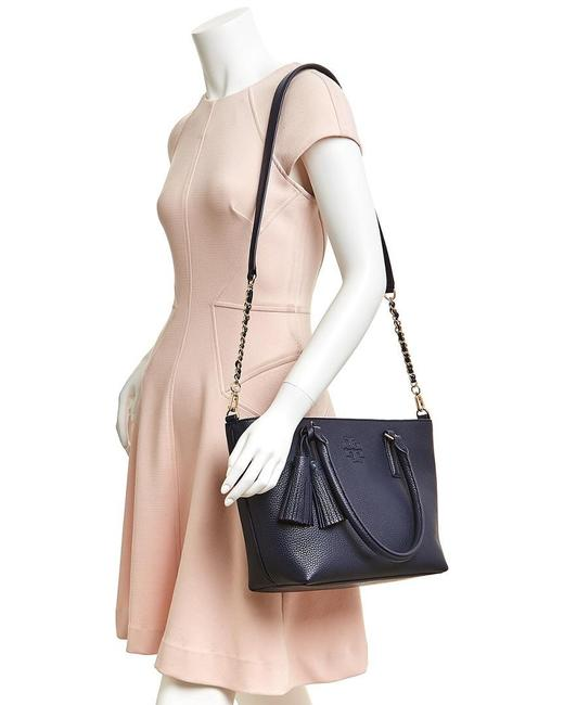 Item - Thea Small Convertible Black Leather Tote