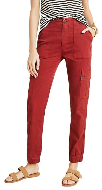 Item - Red Dallas Pants Size 0 (XS, 25)