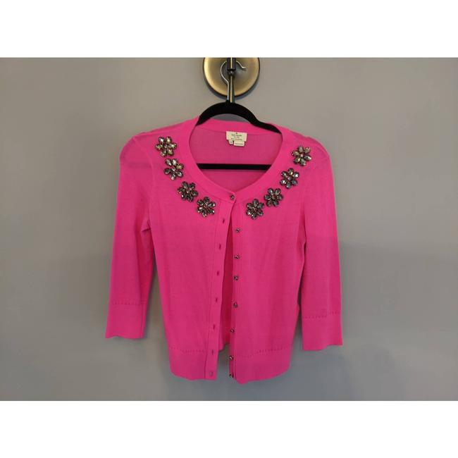Item - Pink XS Jewel Sweater Cardigan Size 4 (S)