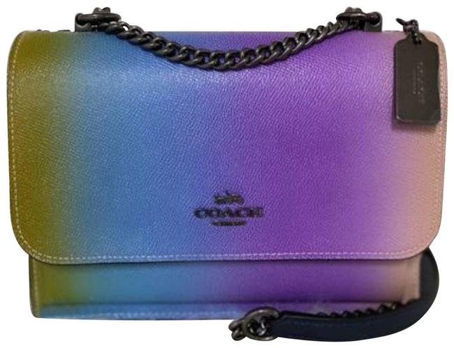 Item - Ombre Klare With Purple Cross Body Bag