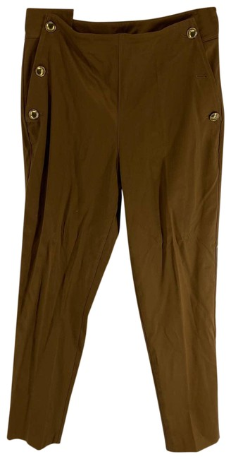 Item - Brown Buttoned Womens Pants Size 8 (M, 29, 30)