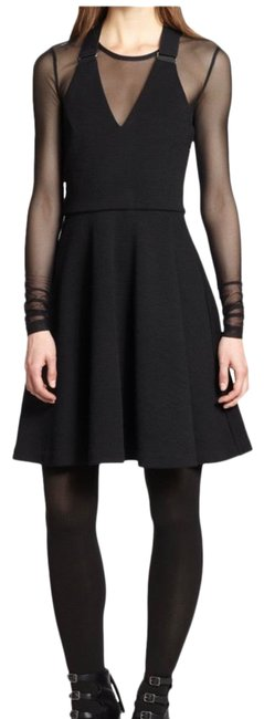 Item - Black Jayden Mid-length Night Out Dress Size 2 (XS)
